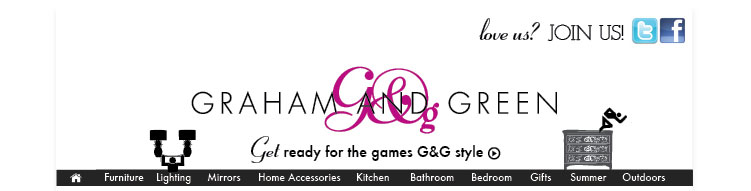 Get ready for the games with the G&G field of dreams....      To view images in this email please enable images or add mailorder@nl.grahamandgreen.co.uk to your safe senders list.