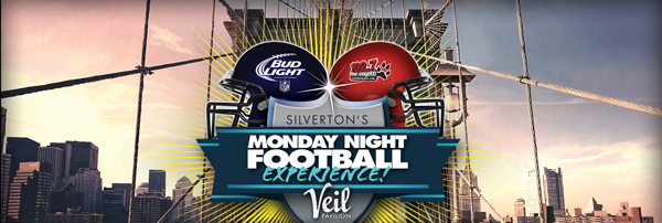Monday Night Football Experience at Veil Pavilion!
